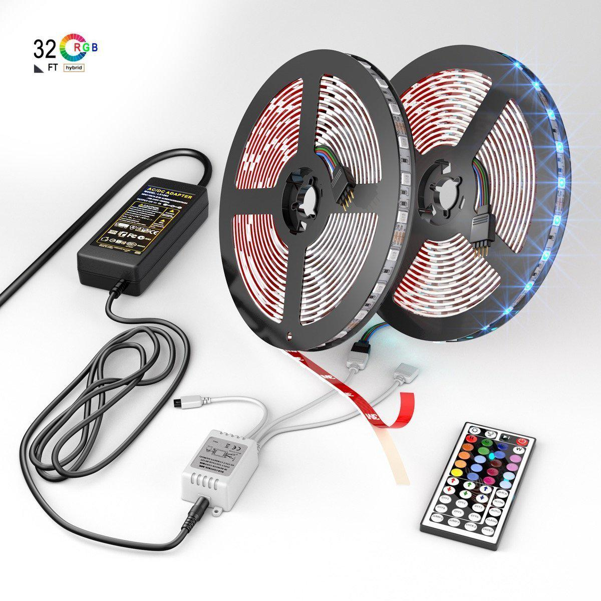 Swaggy led strip lights kit with 24 key remote controller swaggy doo swaggy led strip lights kit with 24 key remote controller mozeypictures Image collections