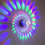Swaggy™ Luminous LED Spiral Light Fixture - With 24 Key Remote Controller