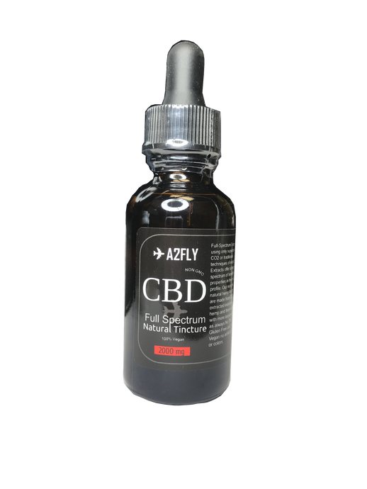 ✈A2FLY CBD Hemp Tincture 2000mg