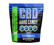 BLUE RASPBERRY CBD HARD CANDY - ✈A2FLY