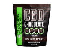 CBD DARK CHOCOLATE MINT - ✈A2FLY