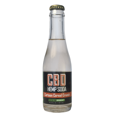 CARTOON CEREAL CRUNCH - CBD HEMP SODA
