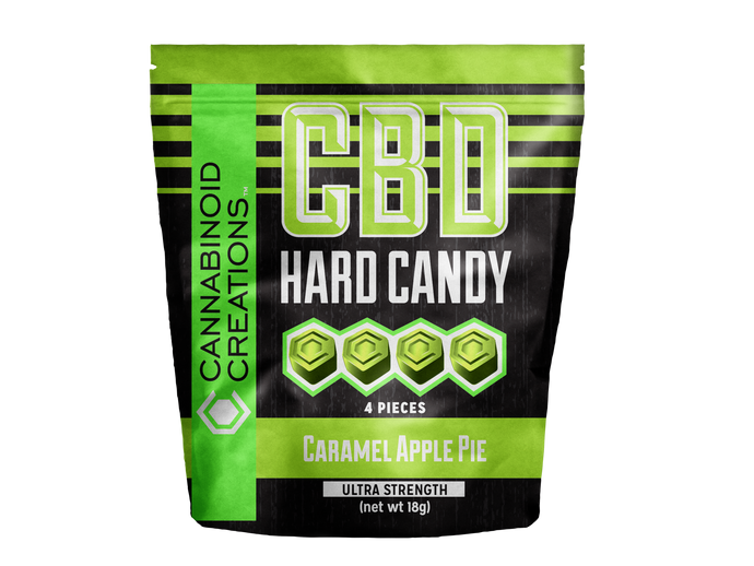 CARAMEL APPLE PIE CBD HARD CANDY - ✈A2FLY