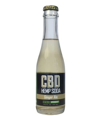 GINGER ALE - CBD HEMP SODA