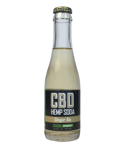GINGER ALE - HEMP SODA