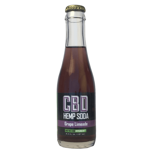 GRAPE LIMEADE - HEMP SODA