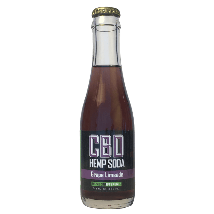 GRAPE LIMEADE - CBD HEMP SODA