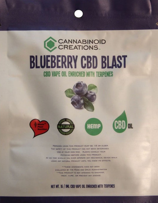 BLUEBERRY BLAST - VAPE OIL - ✈A2FLY
