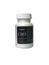 ✈A2FLY's Hemp CBD Soft Gel Capsules 50mg.