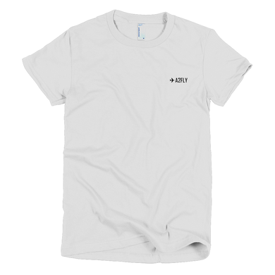 ✈A2FLY SHORT SLEEVE WOMEN'S T-SHIRT - ✈A2FLY