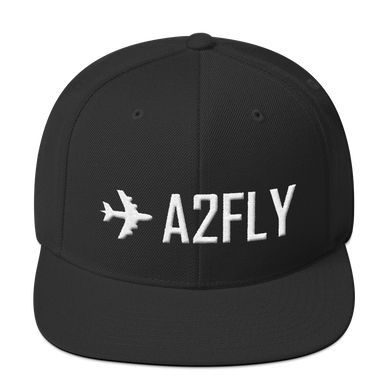 PUFFY Embroidering ✈A2FLY (snapback)