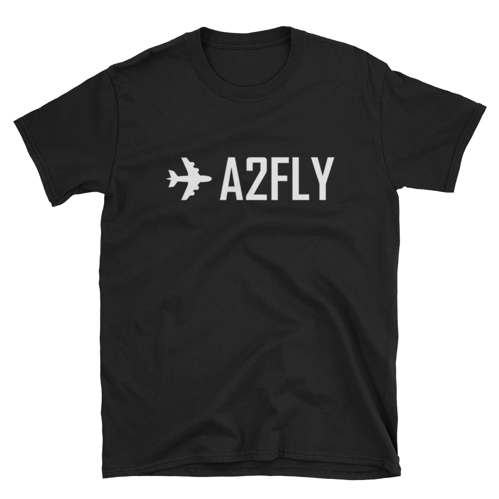 ✈A2FLY Short-Sleeve Unisex T-Shirt