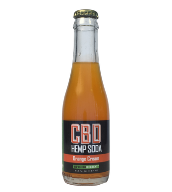 ORANGE CREAM - CBD HEMP SODA