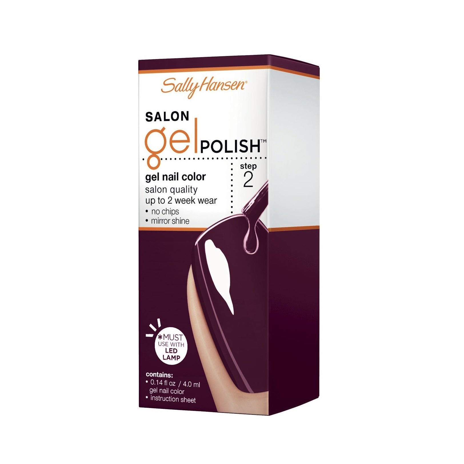 Sally Hansen Gel Polish step 2, lakier do paznokci