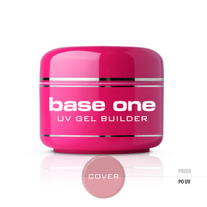 Gel Base One Cover maskujący żel UV do paznokci 50g
