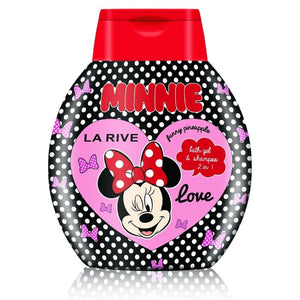 Minnie Love płyn i szampon do kąpieli Funny Pineapple 250ml