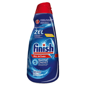 Finish All in 1 Max Shine & Protect skoncentrowany żel do mycia naczyń w zmywarce 1000ml