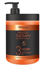 Prosalon Protein Therapy Keratin Complex 3 Mask For Dry And Damaged Hair maska odbudowująca Keratyna & Ekstrakt z Aloesu 1000g
