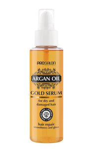 Prosalon Argan Oil Gold Serum Hair Repair serum do włosów z olejkiem arganowym 100ml