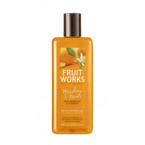 Fruit Works Bath & Shower Gel żel pod prysznic Mandarin & Neroli 500ml