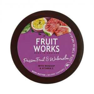 Fruit Works Body Butter masło do ciała Passion Fruit & Watermelon 225g