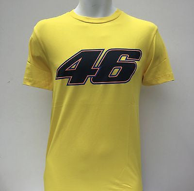 Mens Official Valentino Rossi T Shirt No 46 Sizes S L