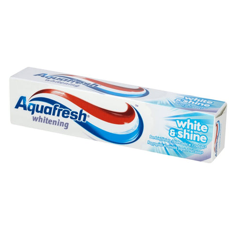 Aquafresh Whitening Toothpaste pasta do zębów White and Shine 100ml