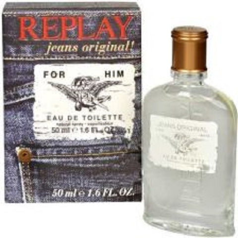 Replay Jeans Original! for Him woda toaletowa spray 50ml