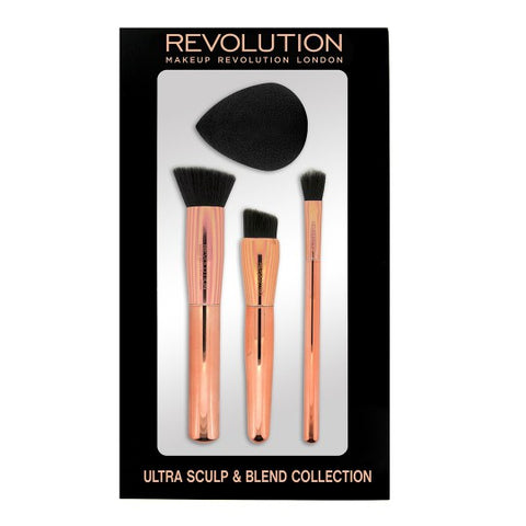 Ultra Sculpt & Blend Collection zestaw pędzli do makijażu