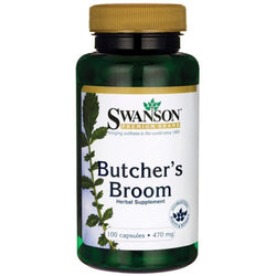 Swanson Butcher'S Broom 470mg suplement diety 100 kapsułek