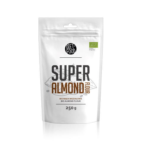 Diet-Food Super Almond Flour bio mąka migdałowa 250g