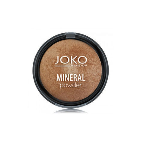 Joko Make-Up Mineral Powder mineralny puder rozświetlający 06 Dark Bronze 7,5g