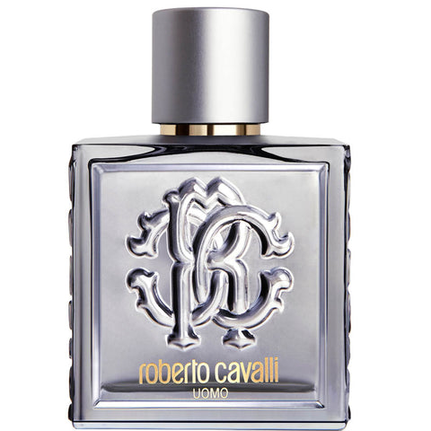 Roberto Cavalli Uomo Silver Essence woda toaletowa spray 100ml
