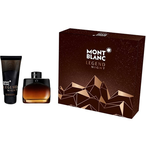 Mont Blanc Legend Night zestaw woda perfumowana spray 50ml + balsam po goleniu 100ml