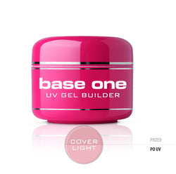 Silcare Gel Base One Cover Light maskujący żel UV do paznokci 30g