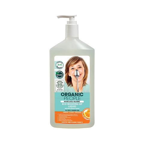 Eco Washing-Up Liquid Made With Organic Orange żel do mycia naczyń z pomarańczą