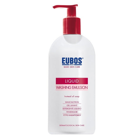 Eubos Basic Skin Care Liquid Washing Emulsion emulsja do mycia ciała zapachowa 400ml