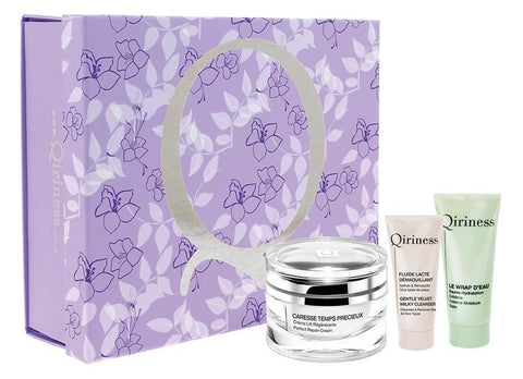 Qiriness Zestaw Perfect Repair Cream 50ml + Extreme Moisture Balm 25ml + Gentle Velvet Milky Cleanser 20ml