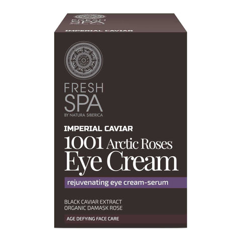 Natura Siberica Fresh Spa Imperial Caviar 1001 Arctic Roses Eye Cream krem pod oczy 30ml