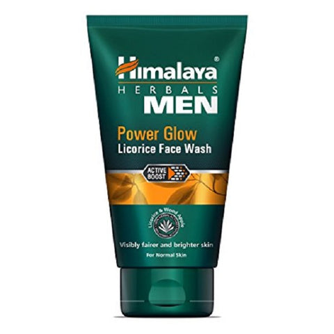 Herbal Men Power Glow Licorice żel do mycia twarzy