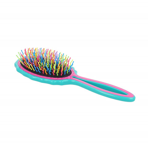 Twish Big Handy Hair Brush duża szczotka do włosów Turquoise-Pink