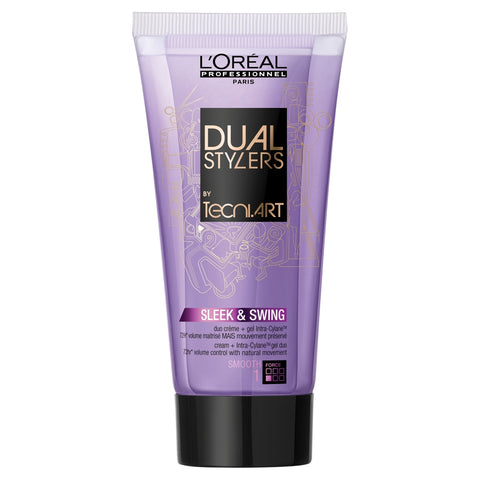 Dual Stylers by Tecni.Art Sleek & Swing krem + żel 150 ml
