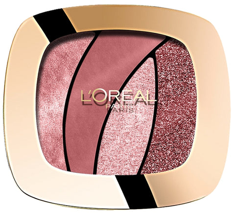 L'Oreal Paris Color Riche Les Ombres Smoky poczwórne cienie S10 Seductive Rose 2,5g