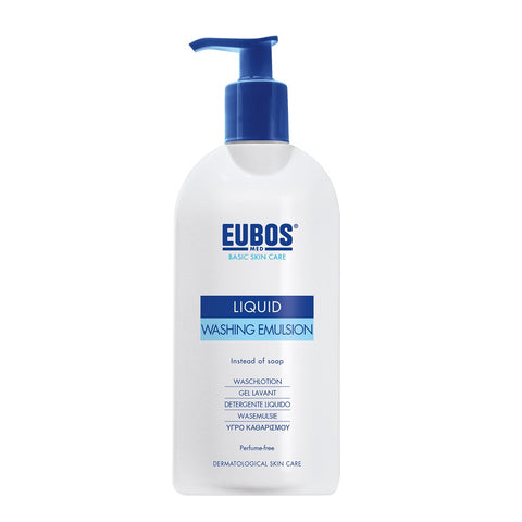 Eubos Basic Skin Care Liquid Washing Emulsion emulsja do mycia ciała bezzapachowa 400ml