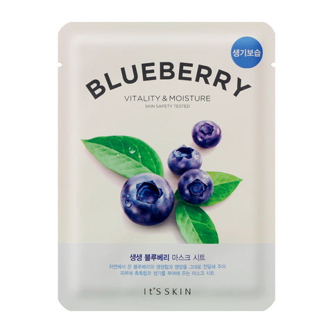 It's Skin The Fresh Mask Sheet Blueberry maska do twarzy z wyciągiem z borówek 20ml
