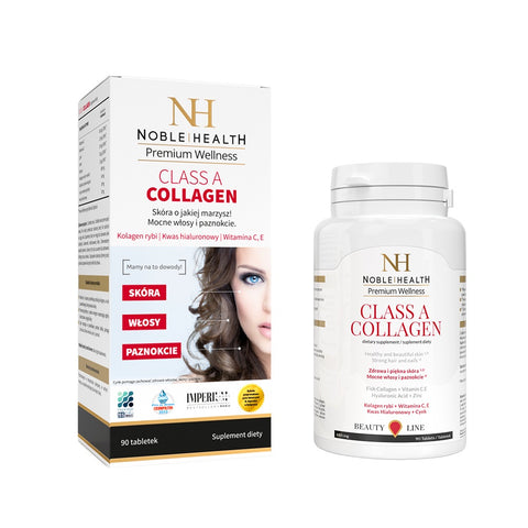 Premium Wellness Class A Collagen kolagen w tabletkach 90szt