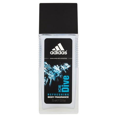 Adidas Ice Dive dezodorant spray szkło 75ml