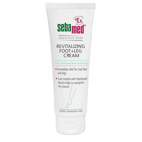 Sebamed Revitalizing Foot + Leg Cream rewitaliuzujący krem do pielegnacji stóp i nóg 75ml