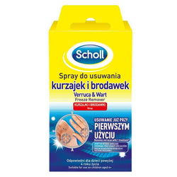 Scholl Scholl spray preparat do usuwania kurzajek i brodawek do stóp