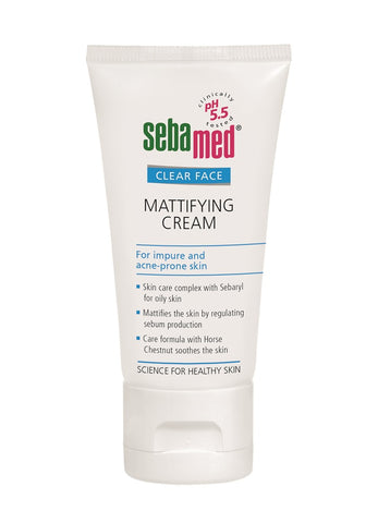 Clear Face Mattifying Cream matujący krem do twarzy 50ml